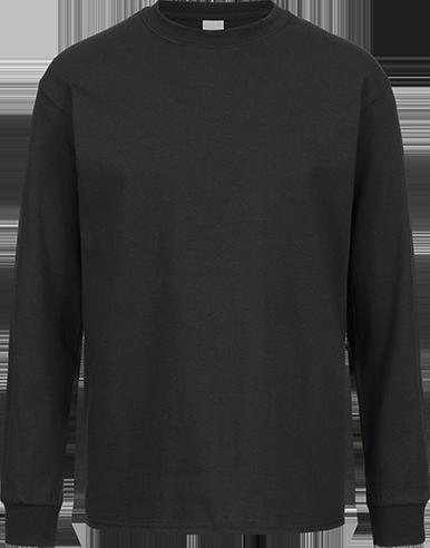 LONGSLEEVE (m) <br>  GILDAN Ultra Cotton schwarz